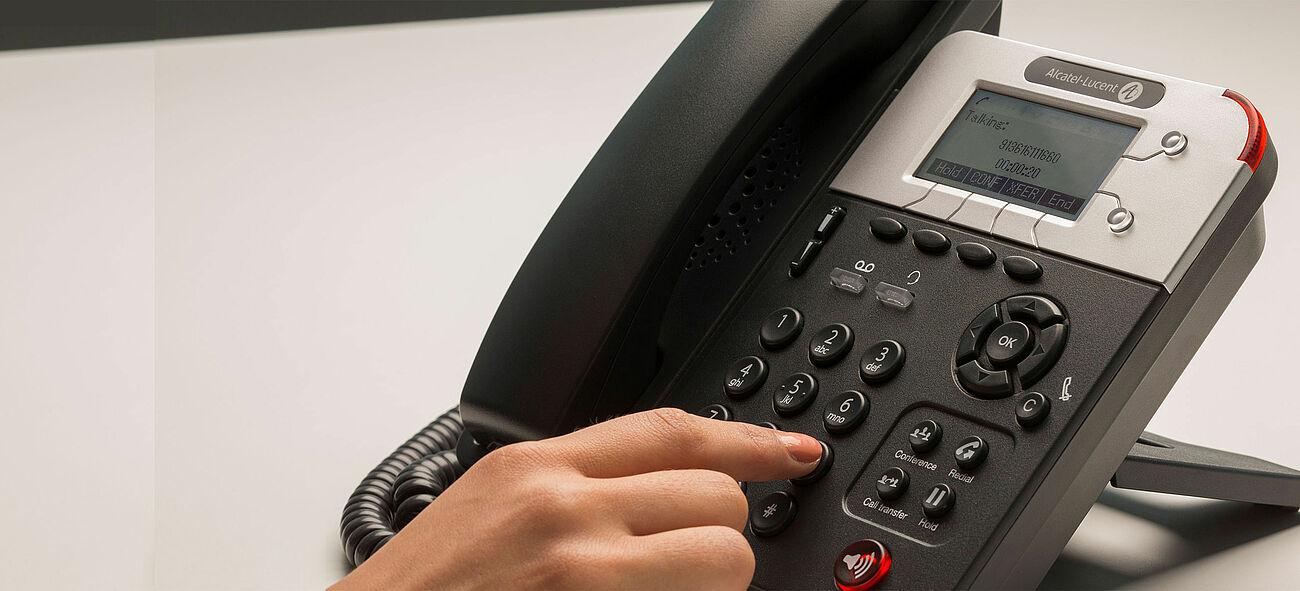 Alcatel Lucent IP Premium Desk Phone, Omni Office Connect