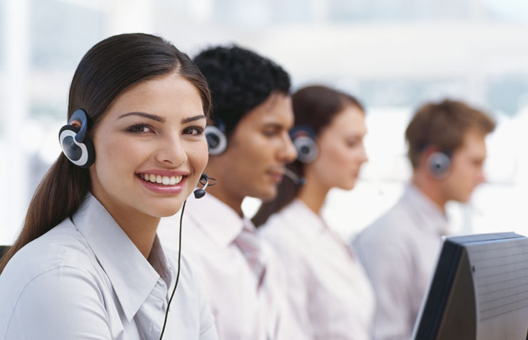 Call Center Anwendungen, Contact Center Loesungen