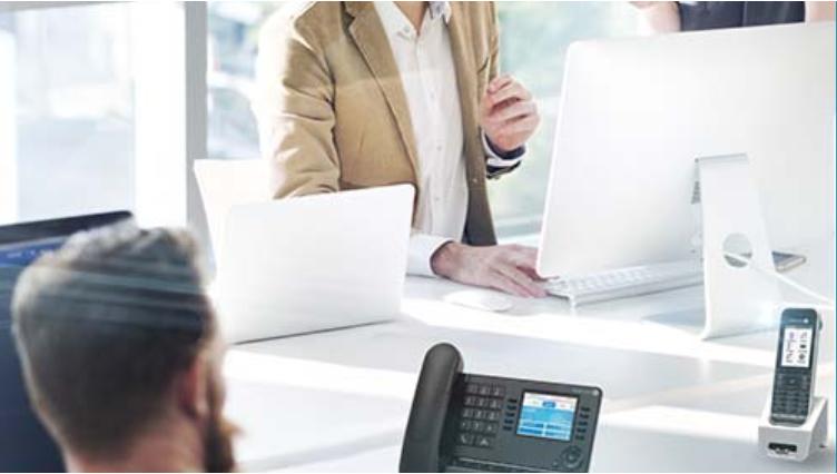 Acaltel Lucent Kommunikationsplattform für KMU