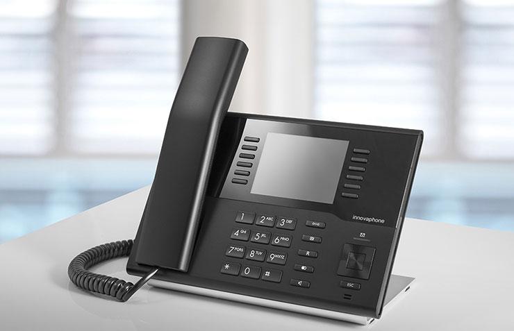 IP Telefon IP222, Tischtelefon innovaphone VoIP