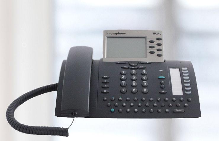 innovaphone IP241 tischtelefon, VoIP Telefon innovaphone 241
