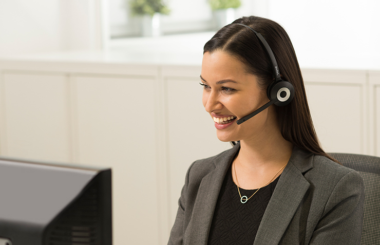 Jabra Kopfhörer, Headsets, Call Center Headsets