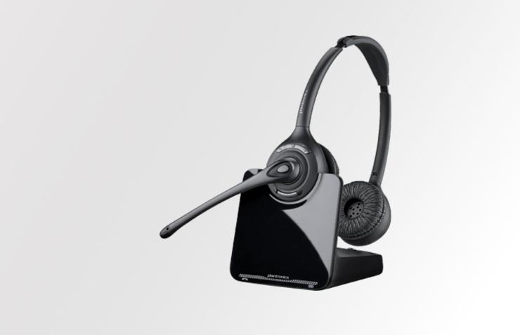 DECT Headset Plantronics CS520 Serie für Festnetztelefone