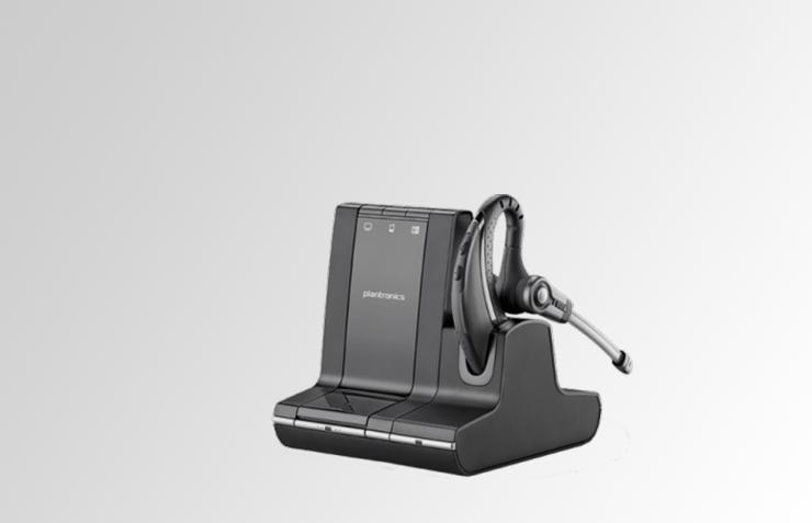 plantronics savi pro 730, für PC und Mobilgeräte, Headset für CallCenter