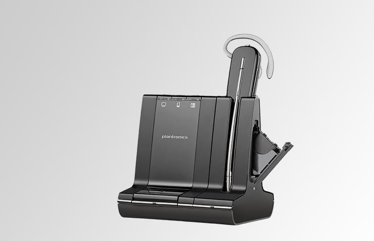 plantronics savi pro 745, für PC und Mobilgeräte, Headset für CallCenter